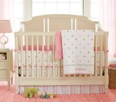Baby Crib Bumper Sets by Bedroom Modern Nursery Furniture Sets With Pink Bedding Sets For