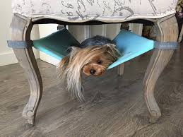 dog hammock with fleece for under chairs saveplace