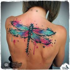 dragonfly back tattoo body art pinterest dragonflies tattoo