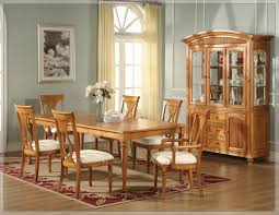 Oak Dining Table And Chairs Rustic Oak Dining Room Furniture Home Design Gallery