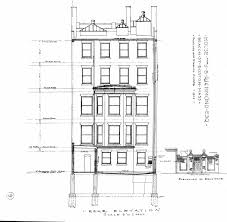 architectural plans 310 beacon 1903 back bay houses