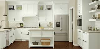 white kitchen cabinet with glass doors kraftmaid at lowe s