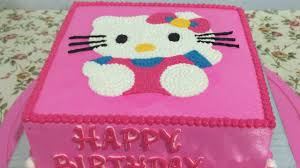 kitty cake easy birthday cake