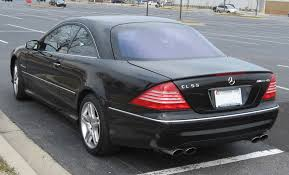 file 2003 mercedes benz cl55 amg rear jpg wikimedia commons