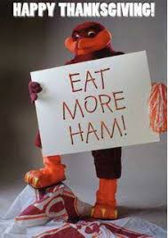 happy hokie thanksgiving go hokies thanksgiving