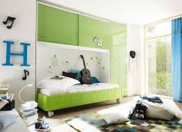 kinder jugendzimmer kinder und jugendzimmer komplett mit grün und weiß farbkombination