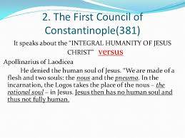 Council Of Constantinople 553 Christological Councils And Heresies