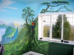 28 jungle wall mural jungle wall murals examples of jungle jungle wall mural jungle mural in girl s room sacredart murals