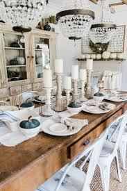 simple u0026 neutral fall farmhouse dining room dining room table