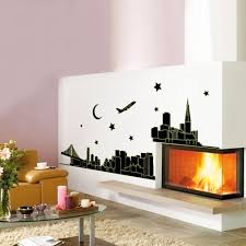 night new york skyline city glow in the dark removable wall features easy to apply remove and reuse without leaving damage or residue peel stick no paint no tools and no hassle instantly brighten up any