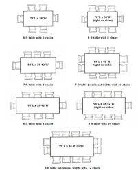Breathtaking Standard Dining Pleasing Standard Dining Room Table - Dining room table measurements
