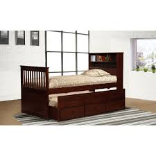white bookcase bed bedroom cozy twin captains bed for your bedroom design u2014 pichafh com