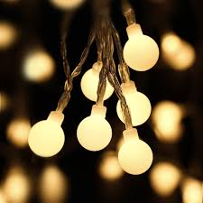 popular christmas lights string balls buy cheap christmas lights