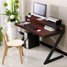 Z Shaped Desk Tribesgns Z Shaped Computer Desk Simple Modern Style 55 For Home