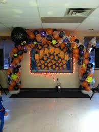 halloween balloon arch balloon decor pinterest halloween
