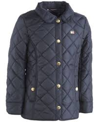Plus Size Quilted Barn Jacket Tommy Hilfiger Quilted Barn Jacket Little Girls 4 6x Coats
