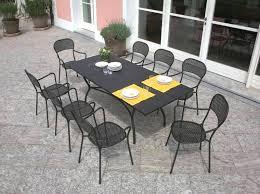 Iron Patio Dining Set Wrought Iron Rectangular Patio Dining Table U2013 Librepup Info