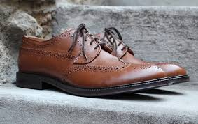 in review the jc penney stafford logan wingtip