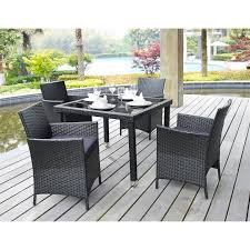 High Top Patio Dining Set Dining Tables Outdoor Dining Room Table Alluring Decor