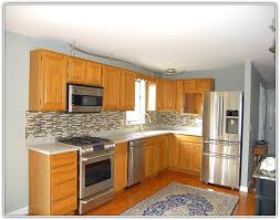 painting old kitchen cabinets color ideas kitchen paint colors with golden oak cabinets photogiraffe me