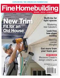 fine homebuilding podcast fine homebuilding