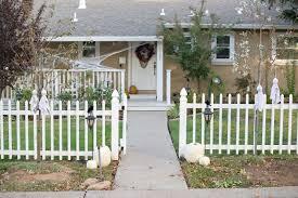 domestic fashionista simple diy halloween porch