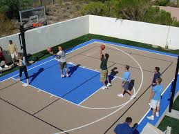 Best Backyard Basketball Court by Outdoor U2014 Rhino Courts