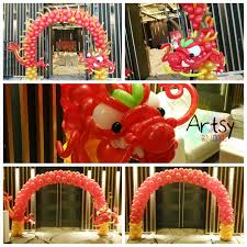 Balloons Decoration For New Year by Chinese New Year Balloon Decorations 2 Singapore Balloon