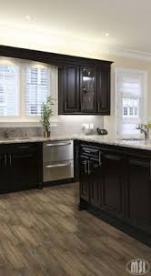 White Granite Kitchen Countertops by Britany Simon U0027s Design Portfolio Espresso Cabinets Blue Gray