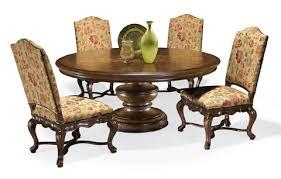 Thomasville Patio Furniture by Elba Round Dining Table 43622 740 Thomasville Furniture Tables