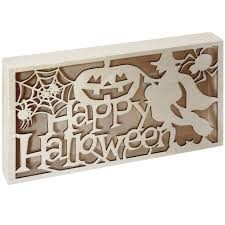 halloween save the date magnets shop for the happy halloween led plaque by artminds at michaels