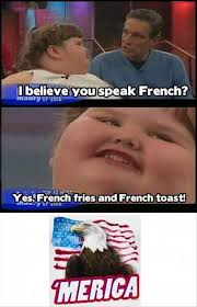 Merica Wheelchair Meme - kid speaks french funny pictures dump a day