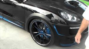 porsche cayenne black wheels dubsandtires com porsche cayenne on 24 inch asanti black and
