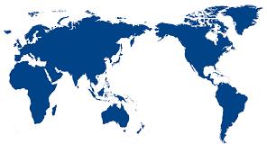 Flat Map Of World by World Globe Map Flat