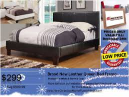 leather bed frame kijiji in edmonton buy sell u0026 save with