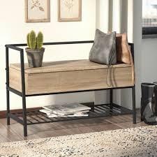 laurel foundry modern farmhouse ermont storage bench reviews