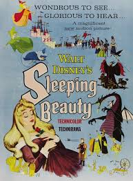 black white cinema chocolate sleeping beauty 1959