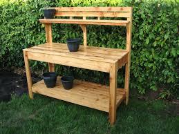 how to make a garden potting bench the garden inspirations