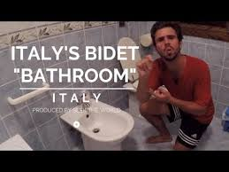 How To Use A Bidet For Men Italy U0027s Bidet Cleaning Yourself After Using The Toilet Youtube