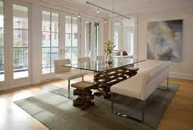 Glass Dining Room Table Inspiring  Dining Room Best Round Glass - Glass dining room