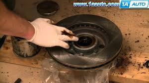how to install replace front wheel bearing chevy s 10 gmc s 15 2wd