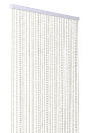 Shower Curtain Beads by Amazon Com Shopwildthings Beaded Curtain Pearls White Acrylic