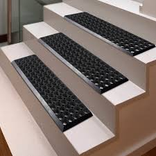 black non slip stair treads lowes stylish outdoor stair treads