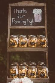 rustic wedding favors blush and gold wedding popcorn favors and weddings