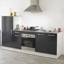 cuisine grise pas cher alinéa miam ensemble de meubles de cuisine gris pas cher achat