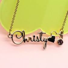name plates jewelry personalized name necklace stainless steel custom made initial