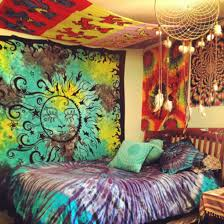 dress hippie tapestry bedroom bedding tie dye