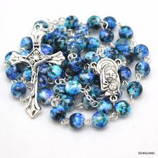 italian rosary aliexpress buy catholic madonna glass cloisonne enamel