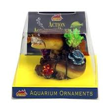 aquarium ornaments talking eel bubbler fish tank ornament ebay