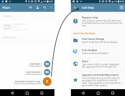 maps android avenza systems inc importing a map android